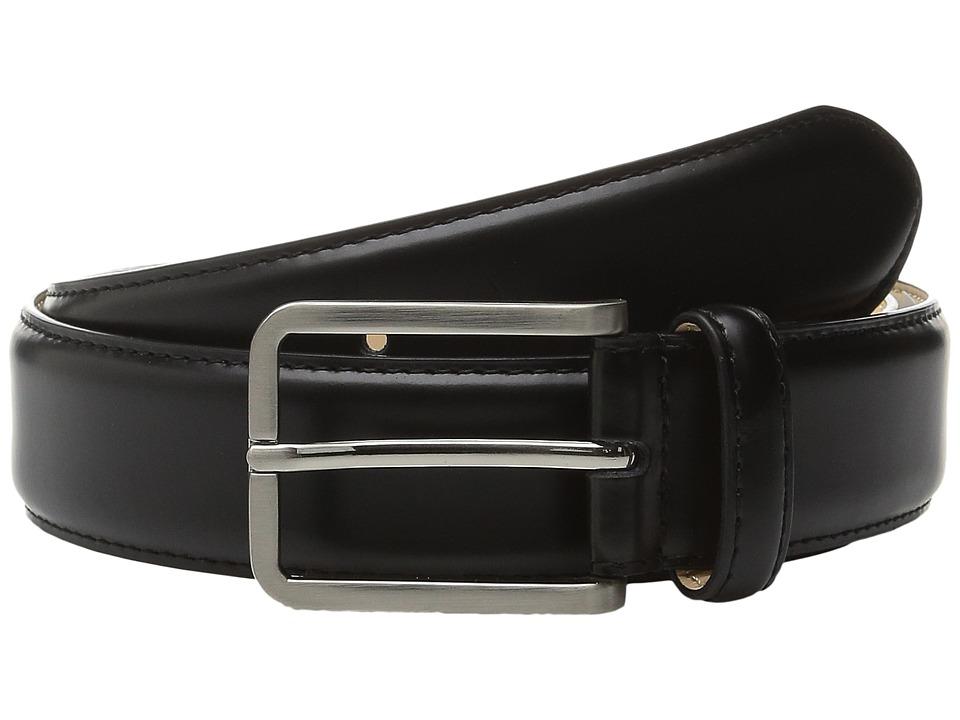 Stacy Adams 32mm Classic Dress Leather Top/Microfiber Lining (Black) Men
