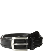 Stacy Adams - 32mm Genuine Leather Casual Belt w/ Raised Inner Edge