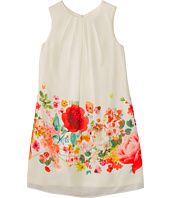 Us Angels - Sleeveless Trapeze w/ Border Print Dress (Big Kids)