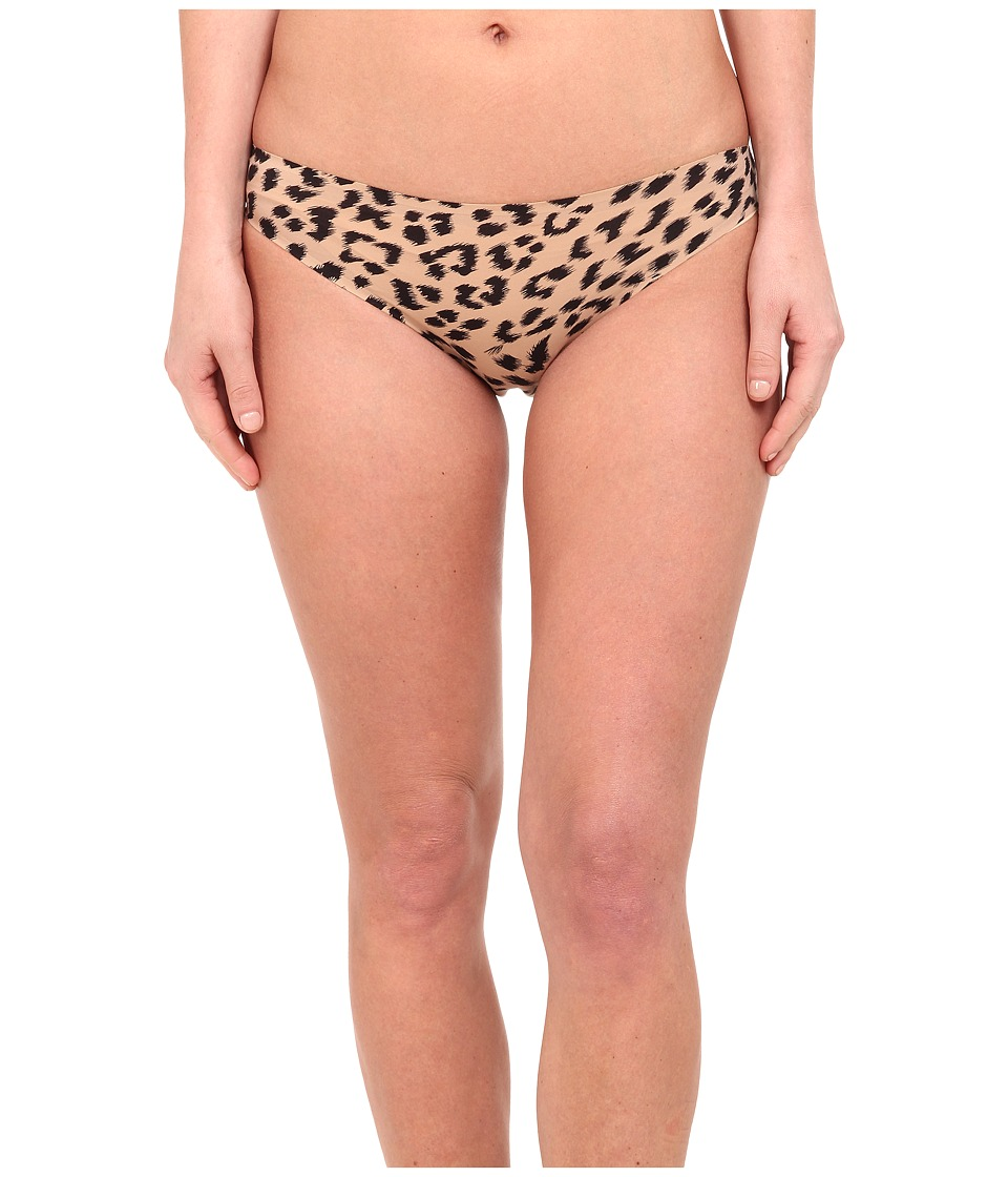 Stella McCartney Stella Smooth Print Brief Bikini Flesh/Black Leopard Print Womens Underwear