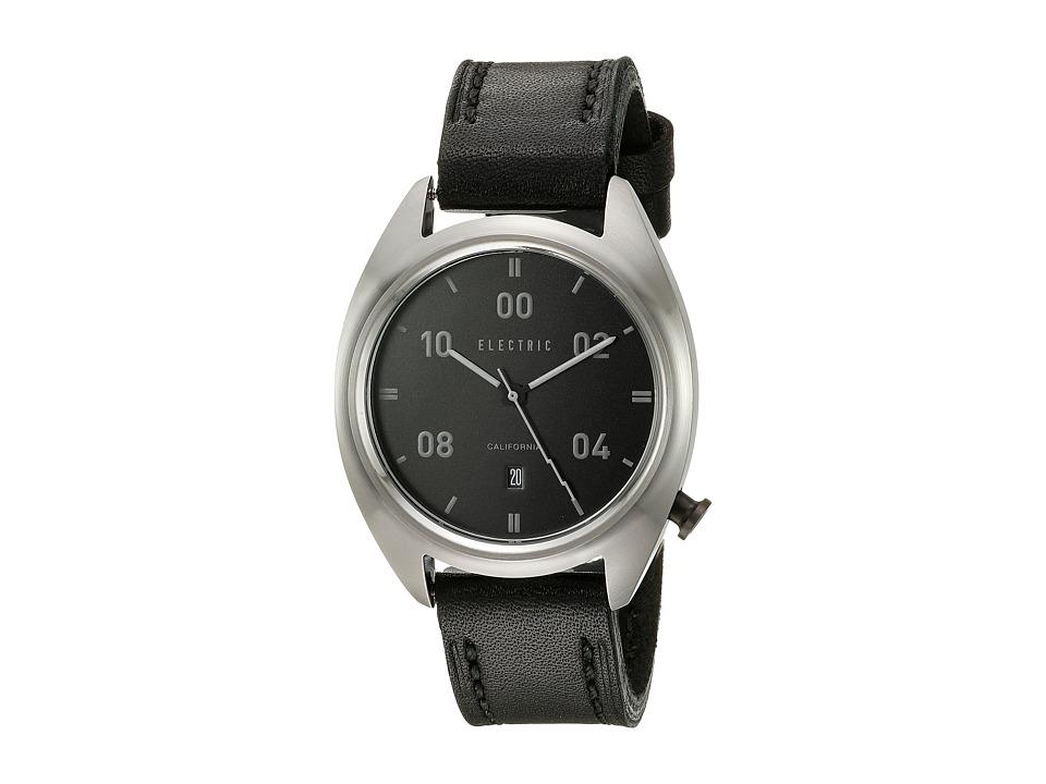 Electric Eyewear - OW01 Leather (Black) Analog Watches