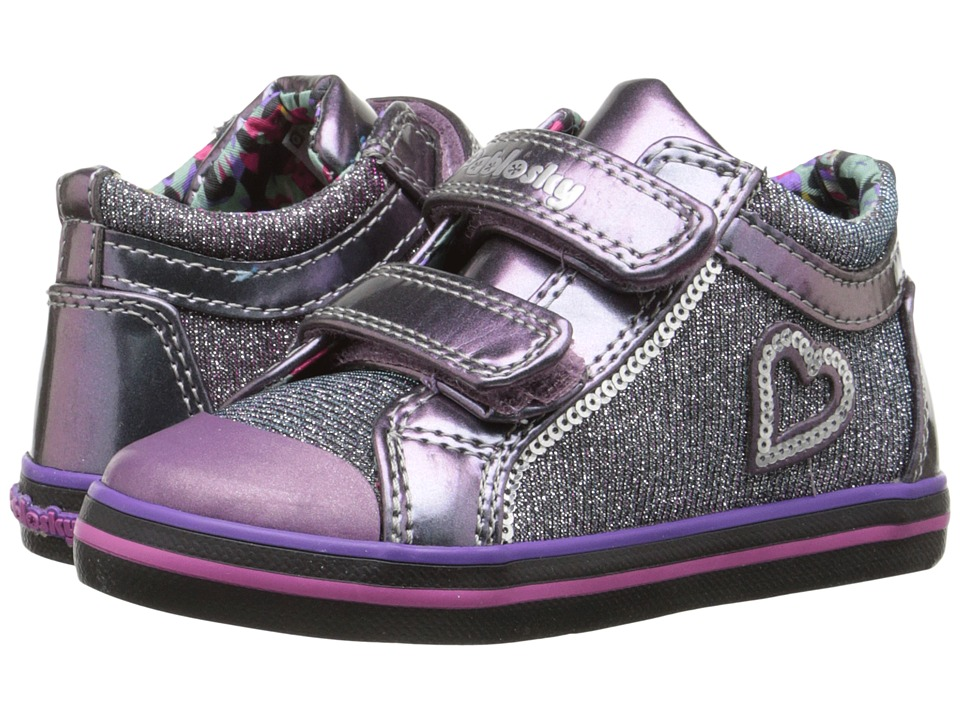 Pablosky Kids 928350 Toddler Silver Girls Shoes