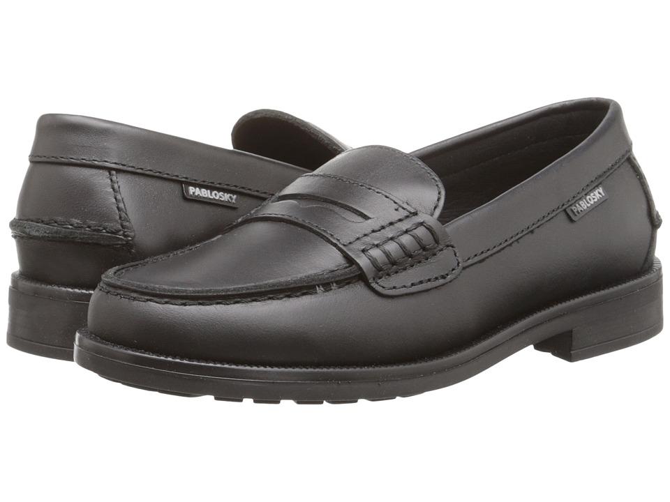 Pablosky Kids 7948 Little Kid/Big Kid Black Boys Shoes