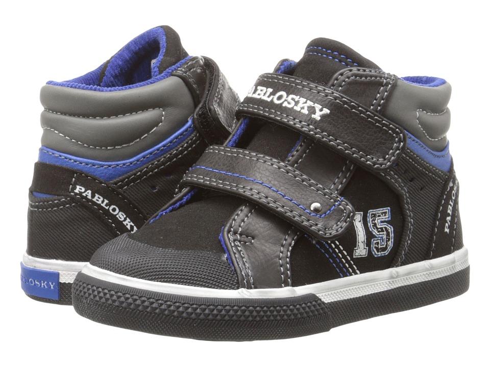 Pablosky Kids 9281 Toddler Black Boys Shoes