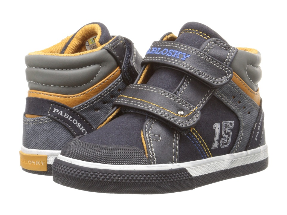 Pablosky Kids 9281 Toddler Navy Boys Shoes