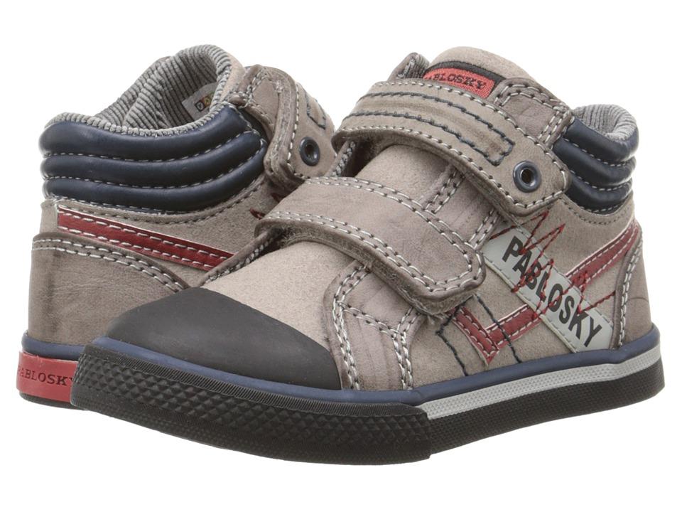 Pablosky Kids 9288 Toddler/Little Kid/Big Kid Grey Boys Shoes