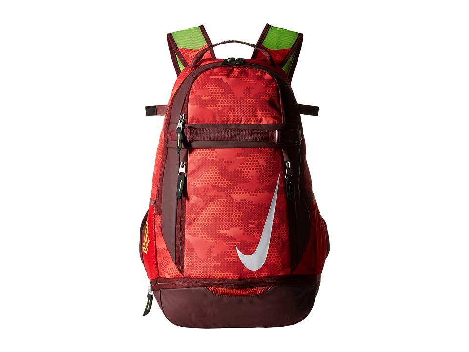 Nike - Vapor Elite Bat Backpack Graphic (University Red/Dark Team Red/White) Backpack Bags