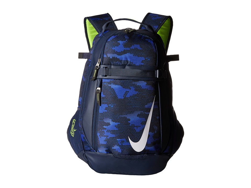 Nike - Vapor Select Bat Backpack Graphic (Midnight Navy/Obsidian/White) Backpack Bags