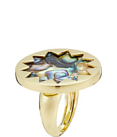 House of Harlow 1960 - Medium Abalone Adjustable Ring