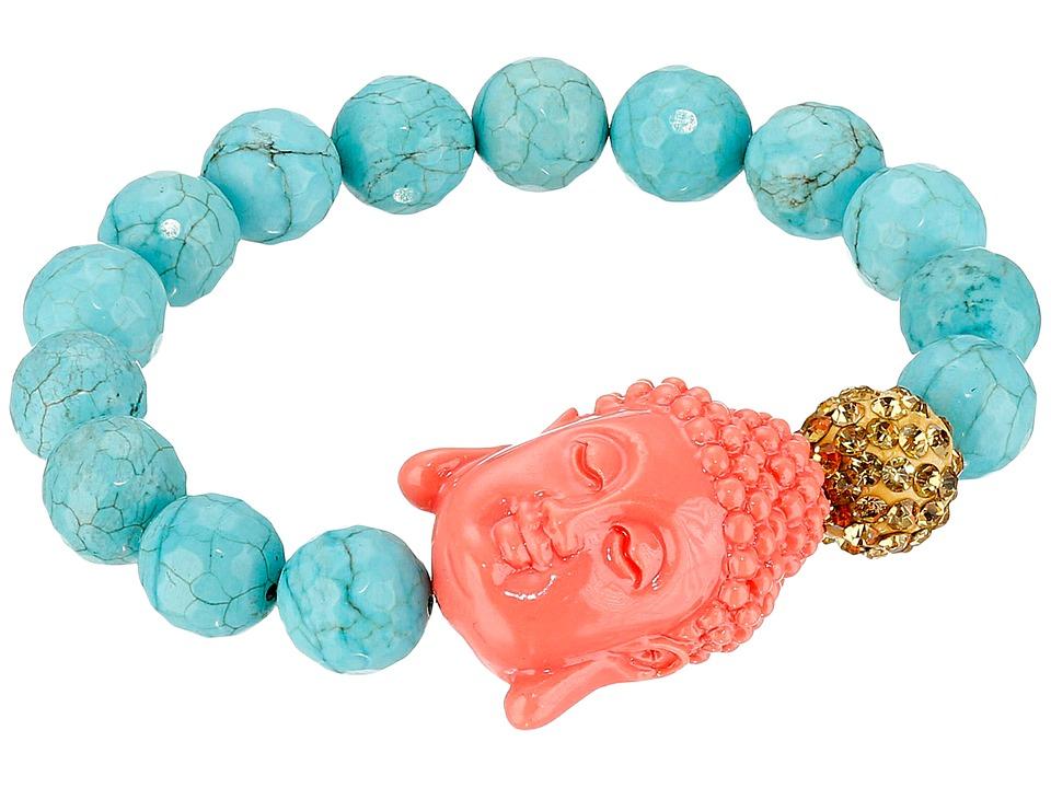 Dee Berkley Bliss Bracelet Turquoise/Coral Bracelet