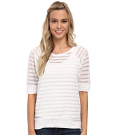Christin Michaels - Sunday Burnout Stripe Sweater