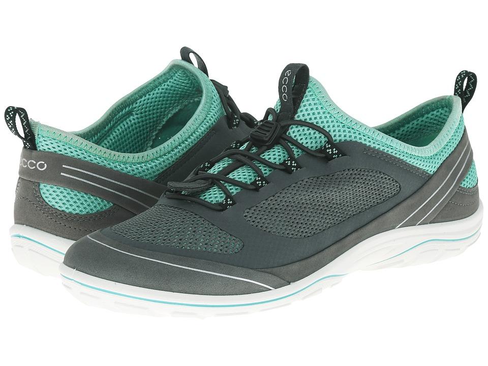 ECCO Sport Arizona Toggle Dark Shadow/Dark Shadow/Granite Green Womens Shoes