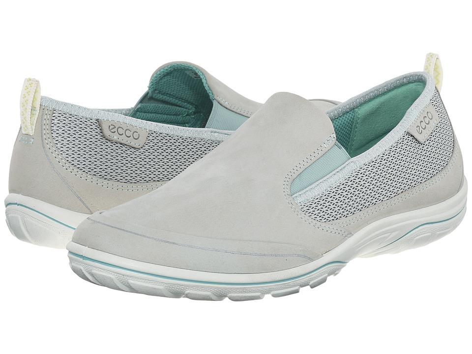 ECCO Sport Arizona Slip On Concrete/Granite Green Womens Slip on Shoes