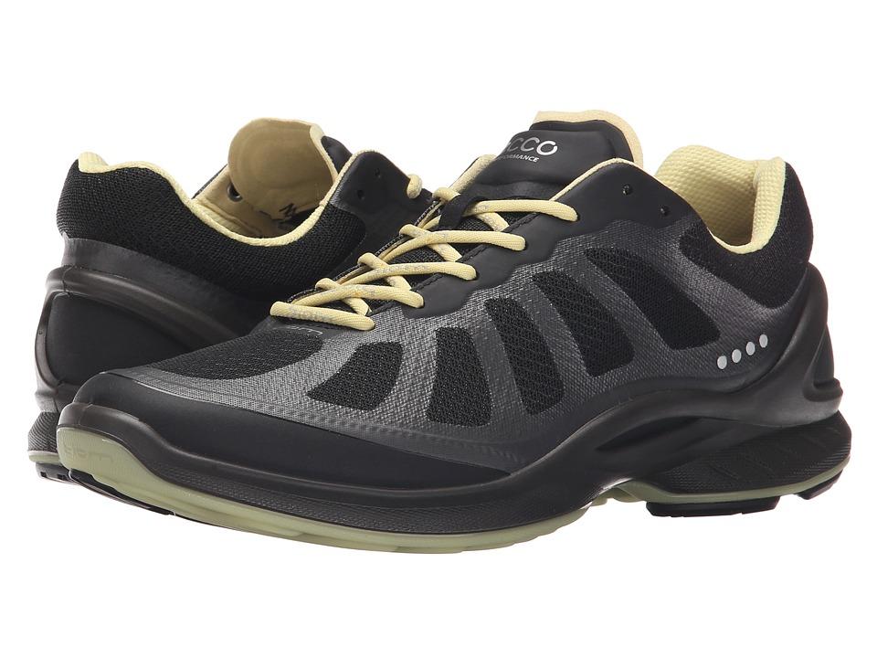 ECCO Sport Biom Fjuel Racer Black/Black/Popcorn Womens Shoes