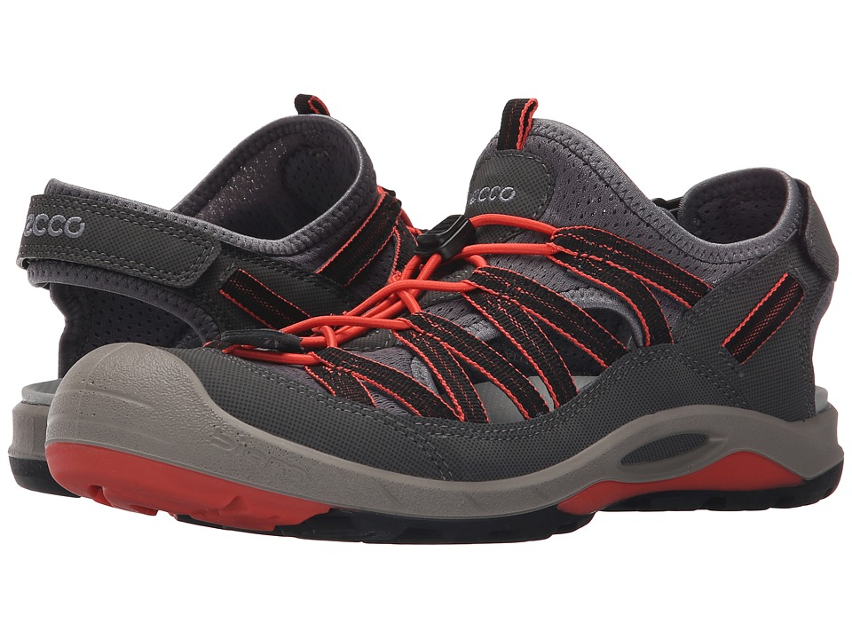 ECCO Sport Biom Delta Sandal Dark Shadow/Coral Blush Womens Shoes
