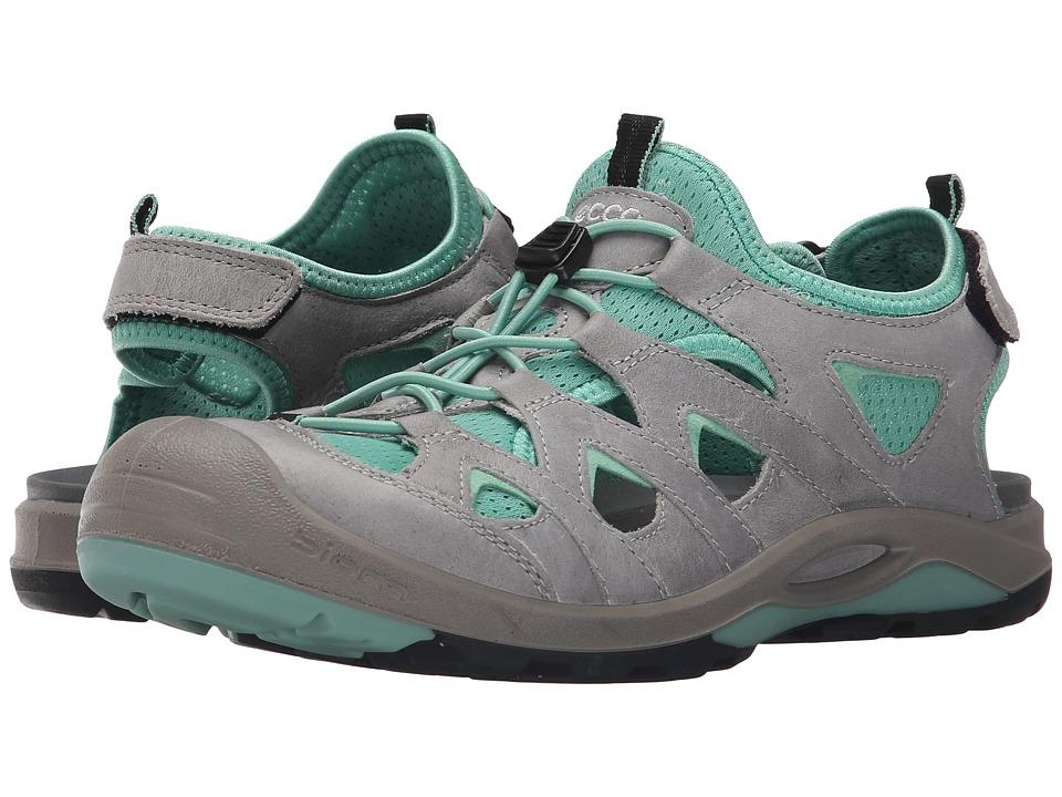 ECCO Sport Biom Delta Offroad Titanium/Granite Green Womens Shoes