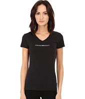 Emporio Armani - Essential Stretch Cotton V-Neck Tee