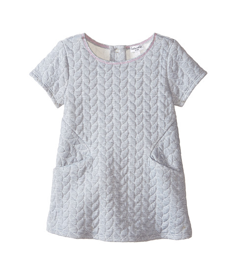 Splendid littles quilted cable dress infant grey heather for Splendid infant
