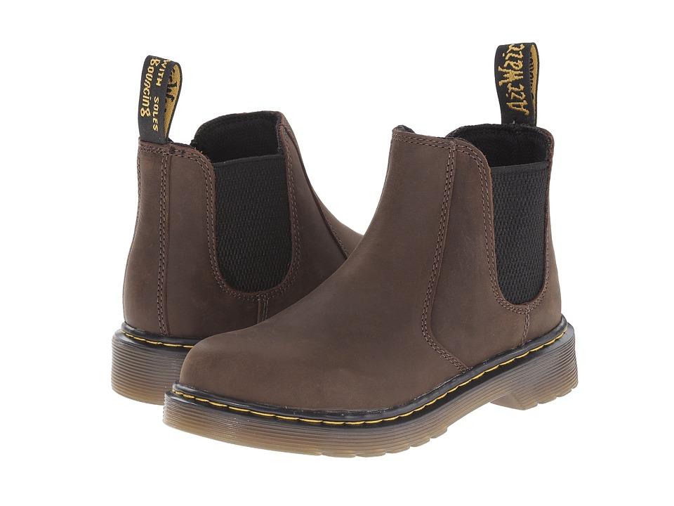 Dr. Martens Kids Collection Banzai Little Kid/Big Kid Dark Brown Wyoming Kids Shoes