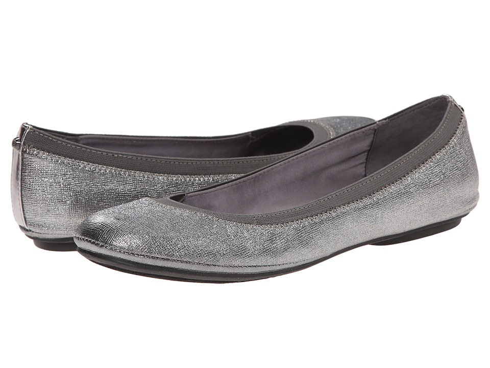 Bandolino Edition Pewter Combo Synthetic Womens Flat Shoes