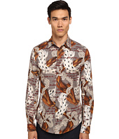 Vivienne Westwood MAN - Ermine Print Classic Stretch Shirt