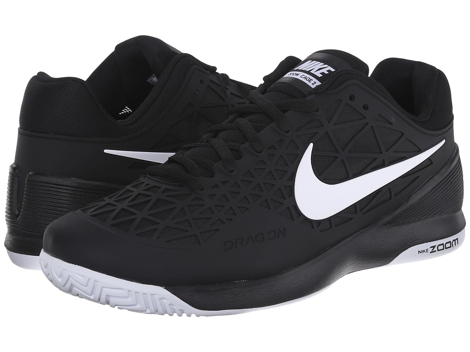 Nike - Zoom Cage 2 (Black/White 1) Men