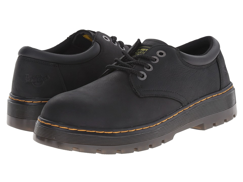 Dr. Martens Work Bolt ST Black Wyoming/Black PU Mens Shoes