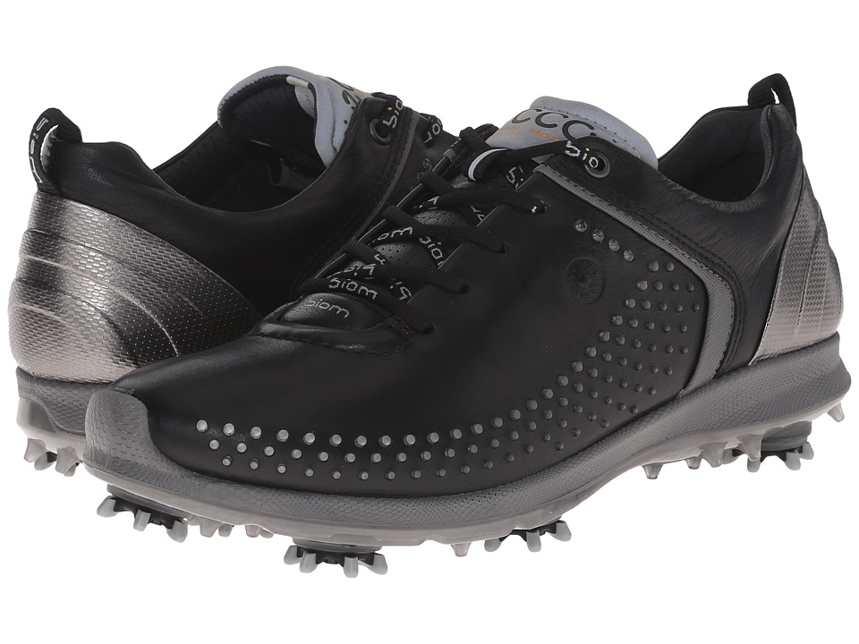 ECCO Golf BIOM G 2 Black/Steel Womens Golf Shoes