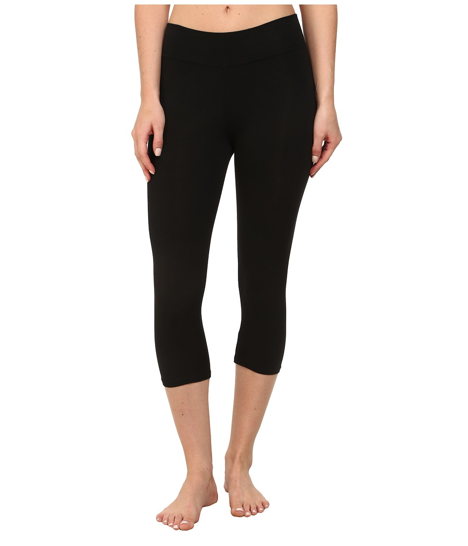 Michael Stars Cropped Legging (Black) Women's Casual Pants