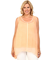 DKNY Jeans - Plus Size Bemberg Lace Tank Top