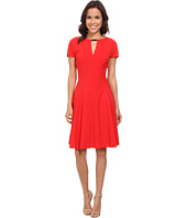 Anne Klein - Saber Cap Sleeve Fit & Flare Dress