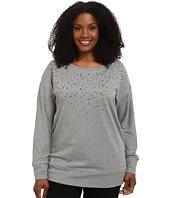 DKNY Jeans - Plus Size Studded Sweatshirt
