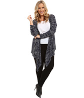 DKNY Jeans - Plus Size Placed Stitch Cardi