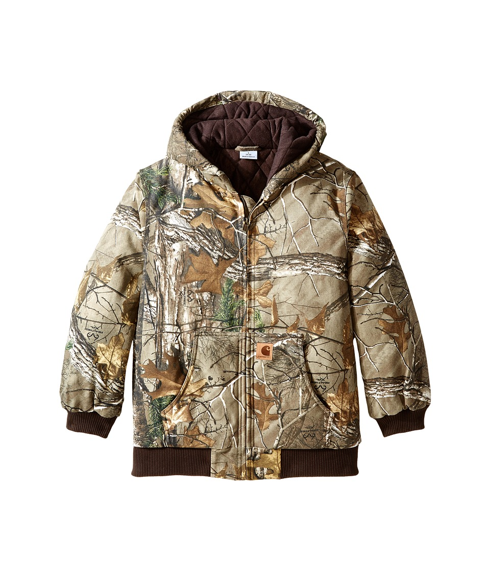 Carhartt Kids Camo Active Jac Big Kids Realtree Xtra Boys Coat