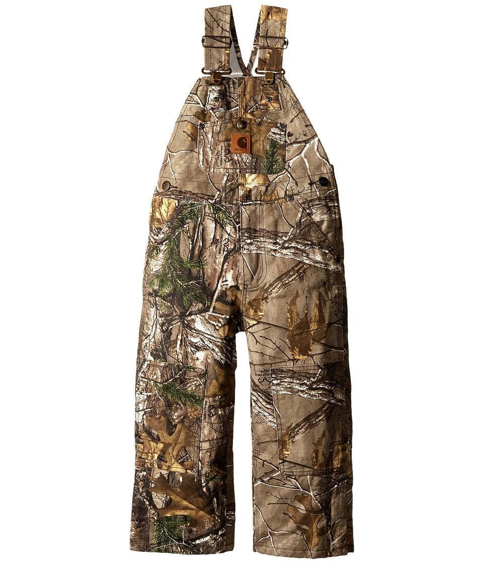 Carhartt Kids Camo Bib Overalls Little Kids Realtree Xtra Boys Overalls One Piece