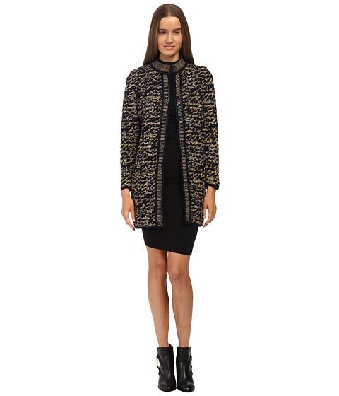 M Missoni Knit Tweed Topper Co...