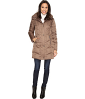 Kenneth Cole New York - Quilted Down Walker with Faux Fur Trim Hood
