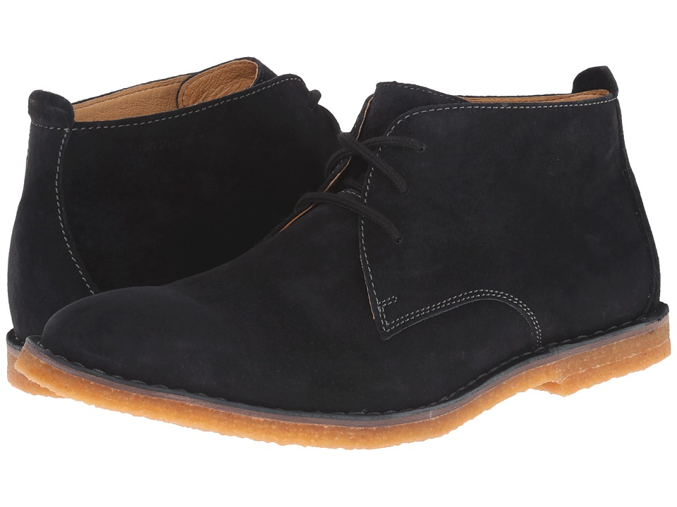 Hush Puppies Desert II Black Suede Mens Lace up casual Shoes