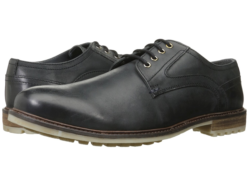 Hush Puppies - Rohan Rigby (Black Leather) Men