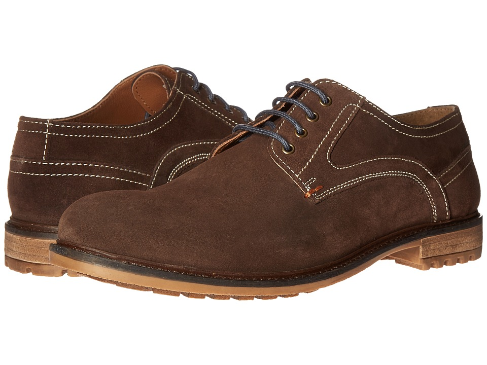 Hush Puppies - Rohan Rigby (Dark Brown Suede) Men