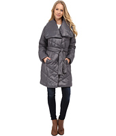 Kenneth Cole New York - Faux Down Coat with Evelope Collar