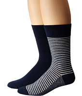 Levi's® - 168 Needle 2-Pack Vintage Stripe Sock