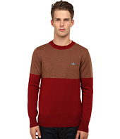 Vivienne Westwood MAN - Color Block Pullover
