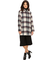 Kenneth Cole New York - Novelty Plaid Wool Coat