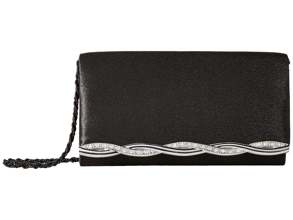 Nina - Abia (Black/Silver) Cross Body Handbags