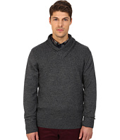 Rodd & Gunn - New Clarkes Cowl Neck Heathered Merino Sweater