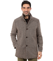 Kenneth Cole New York - Wool Tweed Minimal Coat