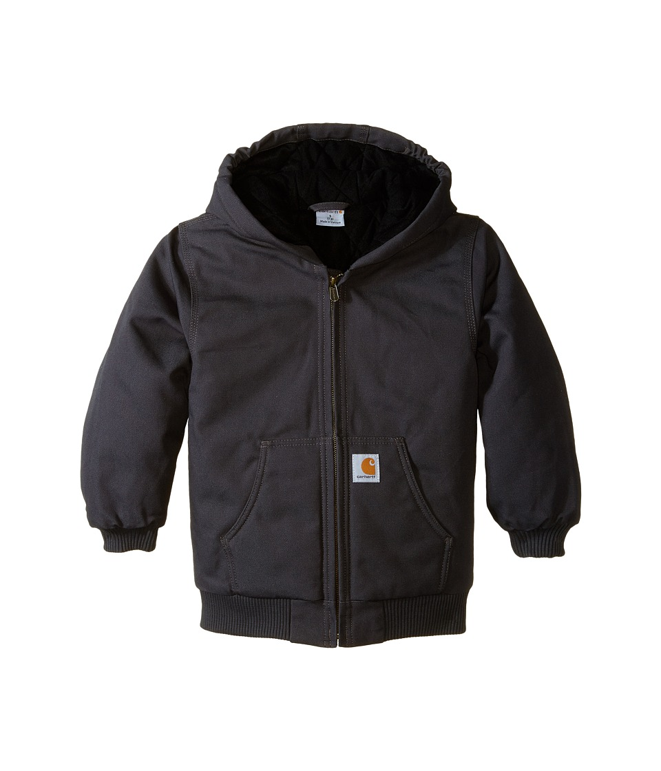 Carhartt Kids Active Jac Little Kids/Big Kids Asphalt Boys Coat