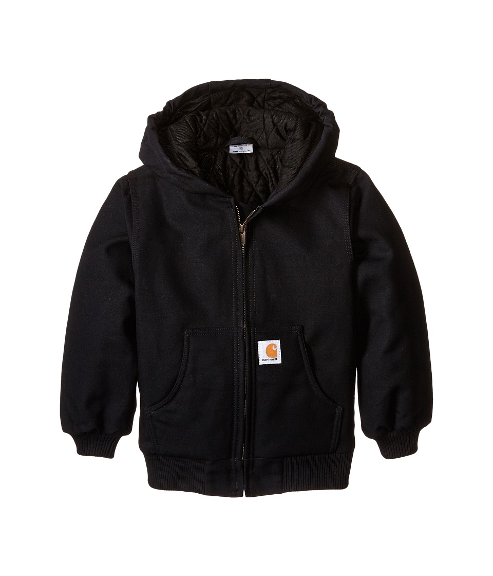 Carhartt Kids Active Jac Little Kids/Big Kids Caviar Black Boys Coat