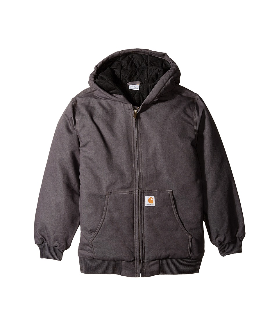 Carhartt Kids Active Jac Big Kids Asphalt Boys Coat